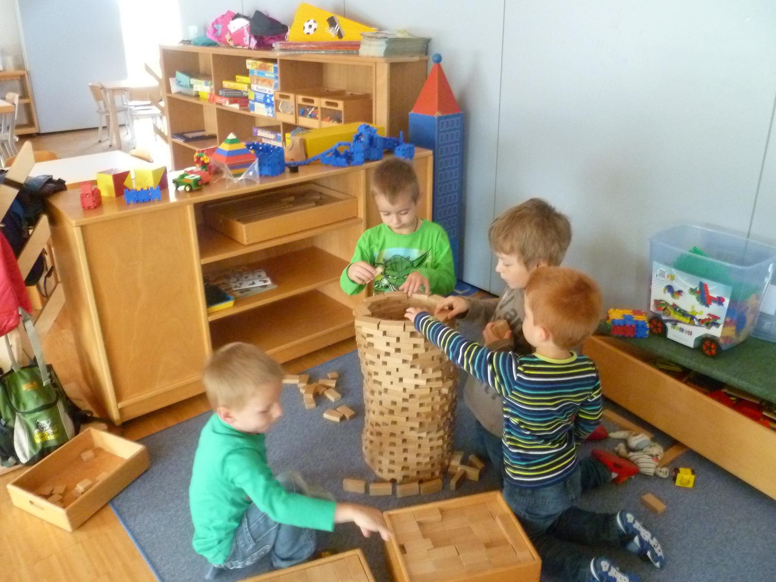 Räume Kindergartengruppe: Kiga-Ottenbach